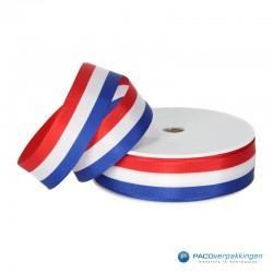 Inpaklint - Holland - Rood / Wit / Blauw - Vooraanzicht