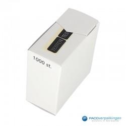 Tester Stickers - Zwart Mat - Disposer