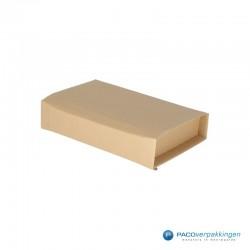 Verzenddozen - Bruin - Boek verpakking (Nr. 440312) - Zijaanzicht dicht