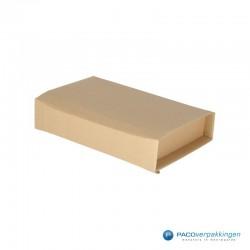 Verzenddozen - Bruin - Boek verpakking (Nr. 440316) - Zijaanzicht dicht