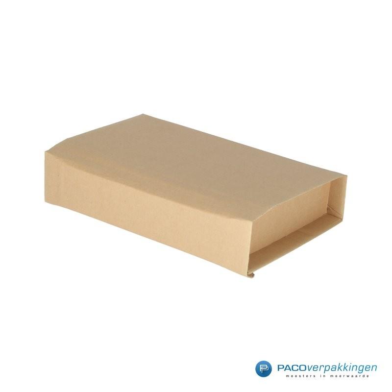 Verzenddozen - Bruin - Boek verpakking (Nr. 440313) - Zijaanzicht dicht