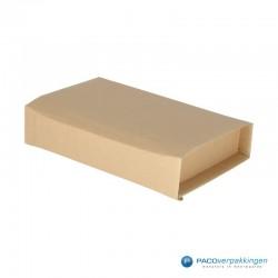 Verzenddozen - Bruin - Boek verpakking (Nr. 477324) - Zijaanzicht dicht