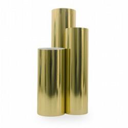 Inpakpapier - Effen - Goud metallic (Nr. 2051) - Rollen