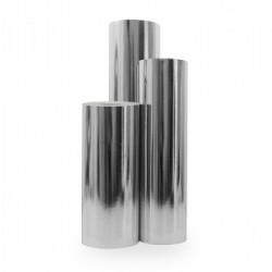 Inpakpapier - Effen - Zilver metallic (Nr. 2054) - Rollen