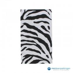 Cadeauzakjes folie - Zebra print - Vooraanzicht