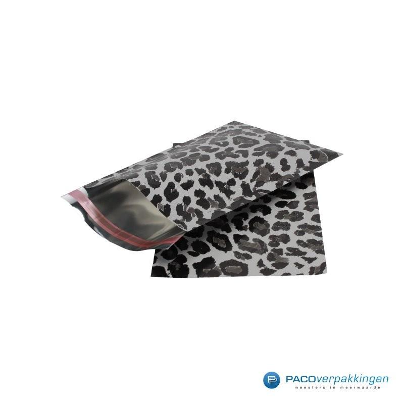 Cadeauzakjes folie - Luipaard print - Beide