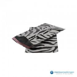 Cadeauzakjes folie - Zebra print - Beide