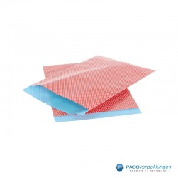 Papieren zakjes - Stippen - Rood - Nr. 962 - Zijaanzicht