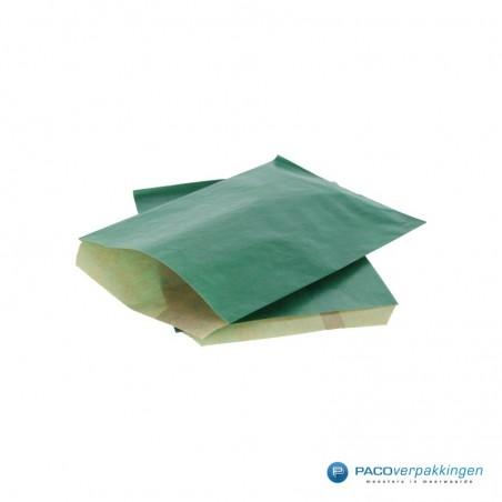 Papieren zakjes - Groen Kraft - Budget