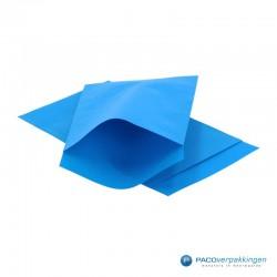 Papieren zakjes - Blauw Kraft - Nr.1718 - Vooraanzicht