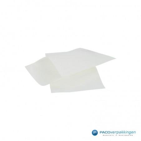 Papieren zakjes - Wit met wit kraft (Nr. 1700)