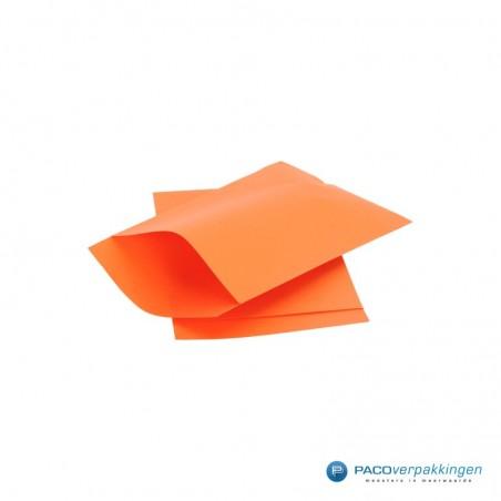 Papieren zakjes - Oranje Kraft (Nr. 1707)