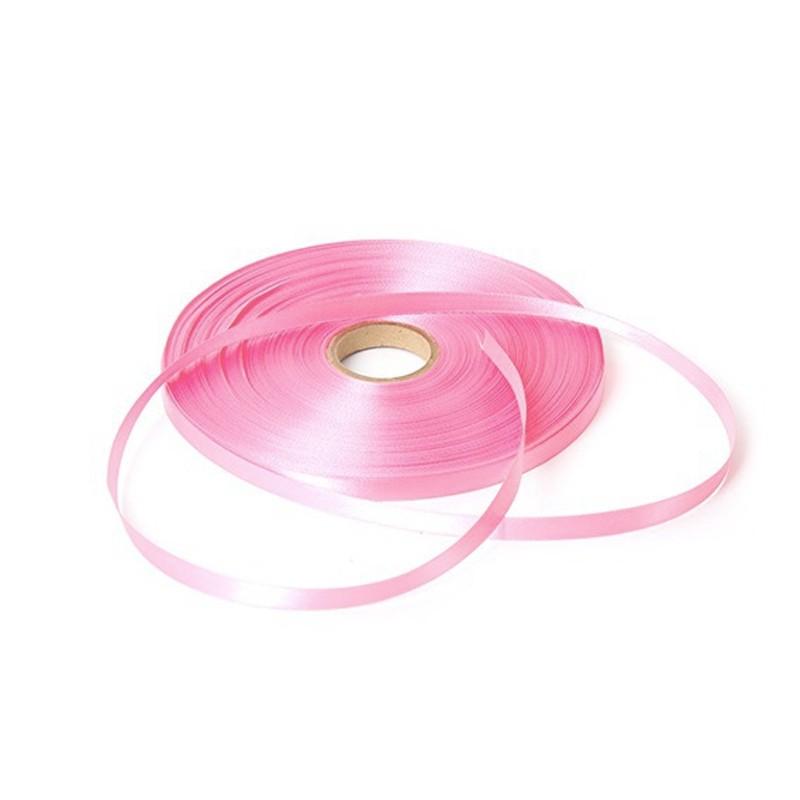 Satijn lint - Baby Roze - Vooraanzicht