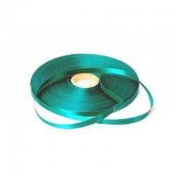 Satijn lint - Turquoise - Oude collectie - Vooraanzicht