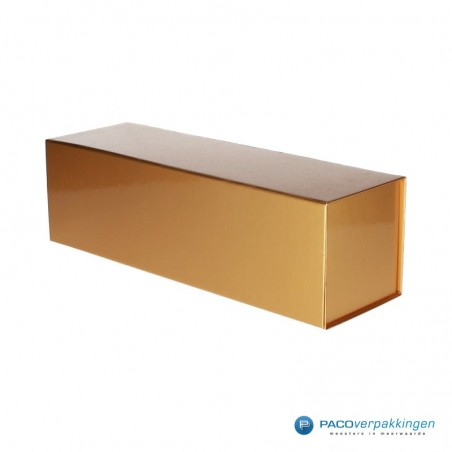 Magneetdoos - Wijndoos - Goud Glans - Basic