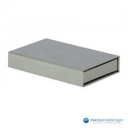 Magneetdoos - Zilver (Toscana) - Zonder Inlay - Zijaanzicht voor