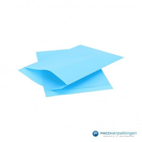 Papieren zakjes - Aquablauw Kraft (Nr. 1717)