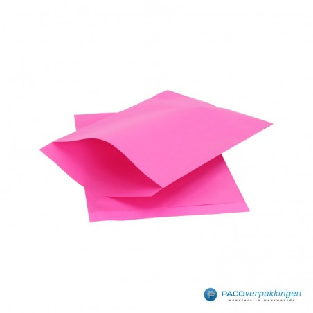 Papieren zakjes - Cerise met cerise kraft (Nr. 1711)