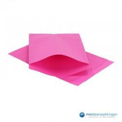 Papieren zakjes - Cerise Kraft - Vooraanzicht