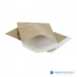 Papieren zakjes - Goud Glans - Vooraanzicht