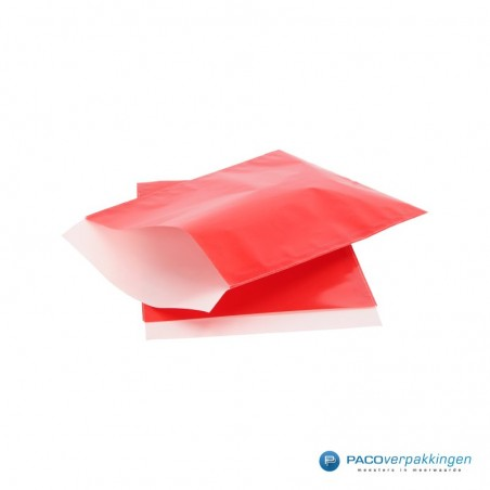 Papieren zakjes - Rood Glans (Nr. 5020)