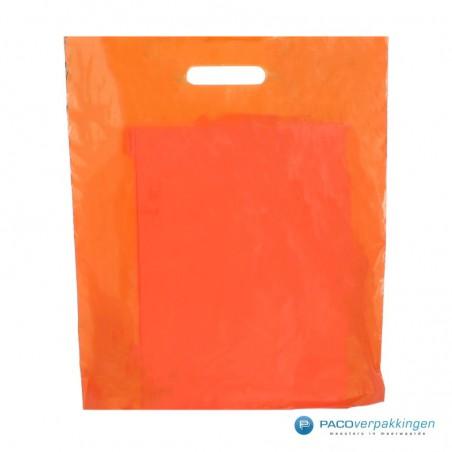 Plastic draagtassen - Oranje