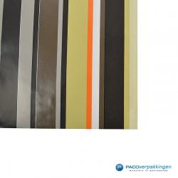 Papieren zakjes - Strepen gekleurd - Nr.910 - Detail