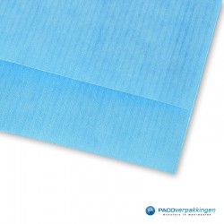 Papieren zakjes - Aquablauw Kraft - Detail