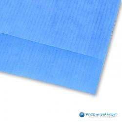 Papieren zakjes - Blauw Kraft - Nr.1718 - Detail