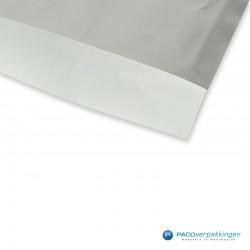 Papieren zakjes - Zilver Glans - Detail