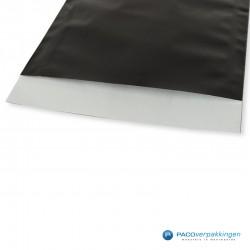 Papieren zakjes - Zwart Glans - Detail