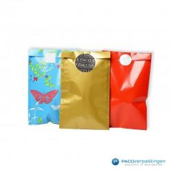 Papieren zakjes - Rood Glans - Toepassingsfoto