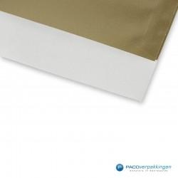 Papieren zakjes - Goud Glans - Detail
