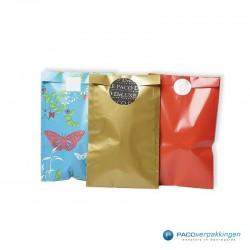Papieren zakjes - Goud Glans - Gebruik collectie