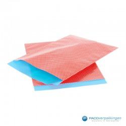 Papieren zakjes - Stippen - Rood - Nr. 962 - Vooraanzicht