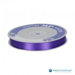 Satijn lint - Violet - Vooraanzicht