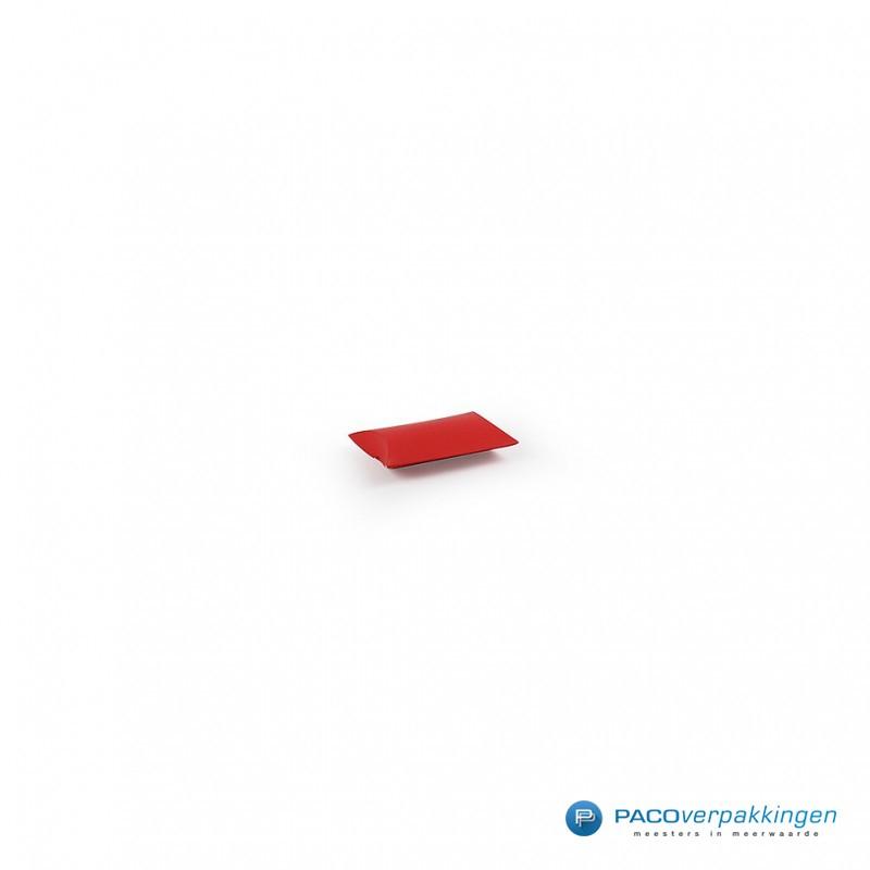 Gondeldoos - Rood Mat - Vooraanzicht