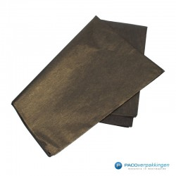 Zijdepapier - Parelmoer - Zwart Goud - Budget - Zijaanzicht