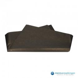 Zijdepapier - Parelmoer - Zwart Goud - Budget - Vooraanzicht