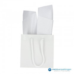 Zijdepapier - Parelmoer - Wit - Budget