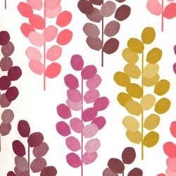 Zijdepapier - Druiven - Multikleur op wit - Close-up