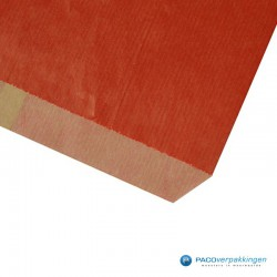 Papieren zakjes - Rood Kraft (Nr. 1502) - Detail