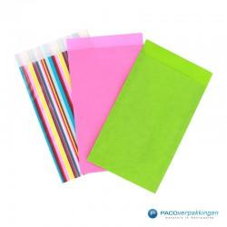 Papieren zakjes - Strepen gekleurd (Nr. 3018) - Toepassingen