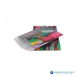 Papieren zakjes - Aquarel (Nr. 918) - Zijaanzicht