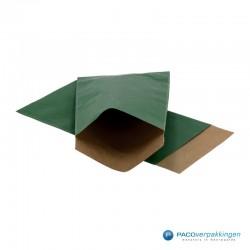 Papieren zakjes - Groen Kraft (Nr. 1504) - Vooraanzicht