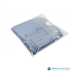 Plastic overhemdzakken - Transparant - Gebruik