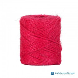 Jute touw - Fuchsia - Vooraanzicht