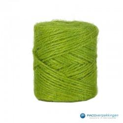 Jute touw - Groen - Vooraanzicht
