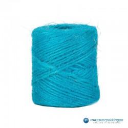 Jute touw - Turquoise - Vooraanzicht