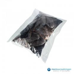 Plastic zakken - Transparant - Gebruik kussen